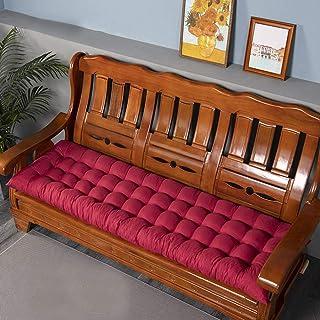 sedile posteriore dellauto 2 posti da pranzo a 3 posti per sedia a dondolo da giardino HANHAN Cuscino per panca in schiuma di alta qualit/à viaggio spessore 5 cm antiscivolo