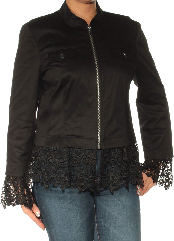 INC International Concepts LaceTrim Jacket