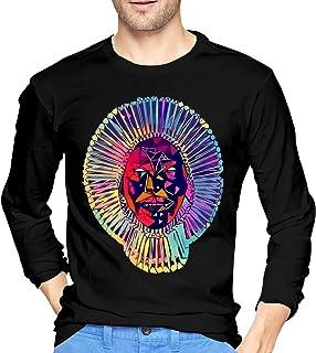 1f95e704baa NeedLove Mens Cool Childish Gambino Long Sleeve Tshirt Black
