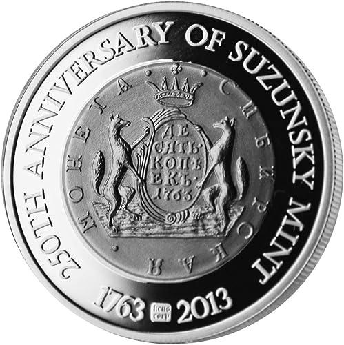 250 Jahre Suzunsky Mint 1763 - 2013, 1 Unze Feinsilber 0.999
