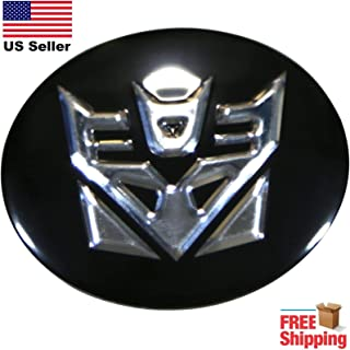 Transformers Decepticons Wheel Center Cap Wall Art   Size 2.5