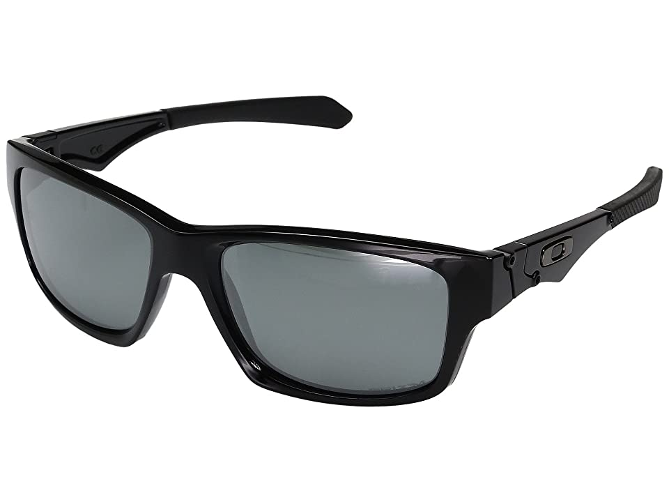 Oakley Jupiter Squared (Polished Black w/ Prizm Black Polarized) Fashion Sunglasses