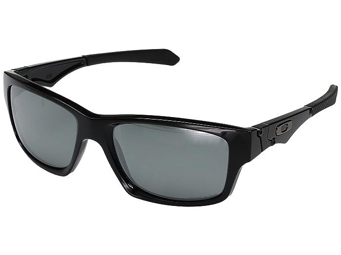 Oakley Jupiter Squared (Polished Black w/ Prizm Black Polarized) Fashion Sunglasses