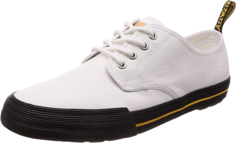 Dr. Martens Pressler White Canvas shoes. Size UK 5. Women's US 7. Men's US 6