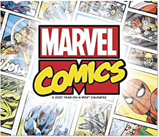 2020 History of Marvel Year-In-A-Box Calendar (LMB2560020)