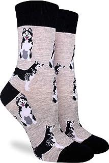 Good Luck Sock Women's Husky Socks - Grey, Adult Shoe Size 5-9