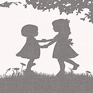 """Oopsy Daisy Sisters Dance Reversed by Patti Rishforth Canvas Wall Art, 18"""" by 24"""""""