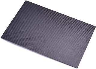 FPVDrone Carbon Fiber Plate Sheet 125mm X 75mm X 3MM Thickness Pure Carbon Fiber Board