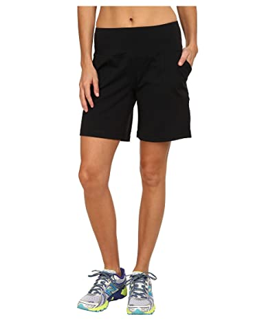 New Balance Premium Performance 8 Short (Black) Women