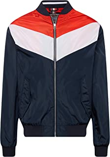 Jack & Jones Originals Bomber Jacket Mens Colour Block Lightweight Coat Jorlouis 12147407