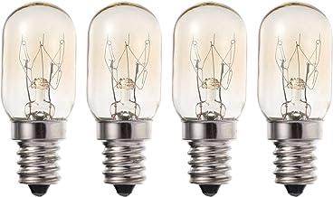 OSALADI 4 pcs 10w Bulbo de refrigerador E12S Base Substituição Refrão Lâmpada Lâmpada Lâmpada