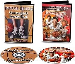 HoopsKing Ball Handling DVD Pack - Old School & New School - Pete Maravich & Ganon Baker Ball Handling DVDs