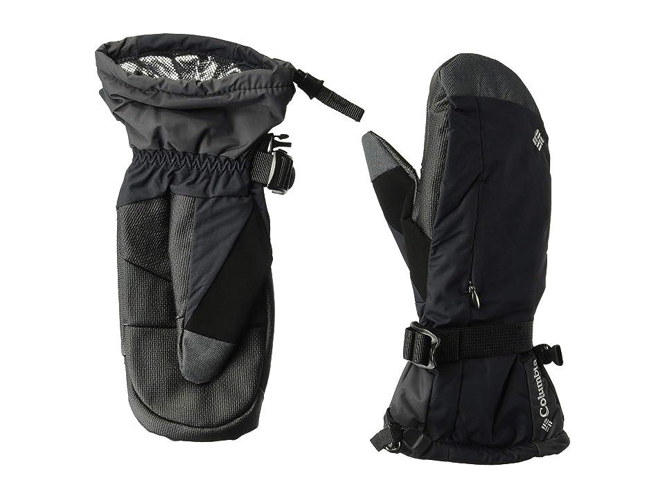 Columbia Bugabootm Mitten (Black) Snowboard Gloves