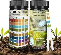 Not application Soil Test Strips, Soil Testing Kit, 100 Tests PH Strips for Testing Soil, Soil Test Kit for Garden and Hom...
