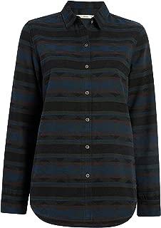 Woolrich Women's Quinella Jacquard Boyfriend Shirt