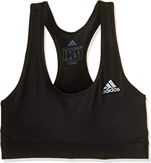 adidas Women's Don't Rest Alphaskin Sports Bra, Black, XS