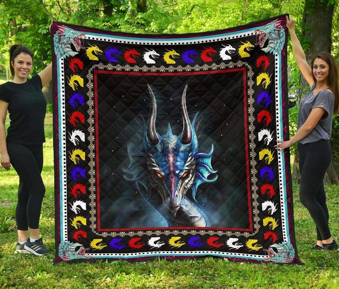 ENCYCOM service Dragon Quilt Mom You Soldering Mean The to Size Q Twin World Me.