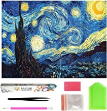 OWAY Full Drill 5D Diamond Painting 20X16 inch, Paint by Number Kits Starry Night Diamond..