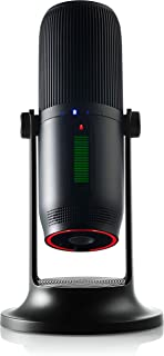 THRONMAX MDrill One - USB-condensatormicrofoon voor podcasts/streaming/oproepen/gamen/YouTube - Jet Black