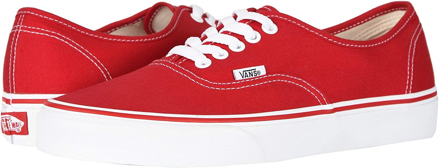 Minneapolis Mall Vans Authentic Size Max 79% OFF RED