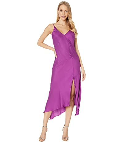 Young Fabulous & Broke Ciara Dress (Magenta Ombre) Women