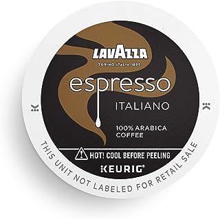 Lavazza Perfetto Single-Serve Coffee K-Cups for Keurig Brewer, Espresso Italiano, 32 Count