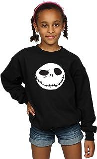 Disney niñas Nightmare Before Christmas Jack's Big Face Camisa De Entrenamiento