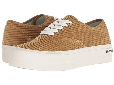 SeaVees Legend Sneaker Platform (Golden Brown) Women