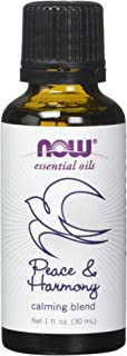 Now Foods Peace & Harmony Oil Blend 1 Fl Oz (Pack of 2)