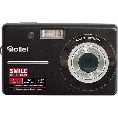 Rollei Compactline 110 Digitalkamera 2 7 Zoll Schwarz Kamera