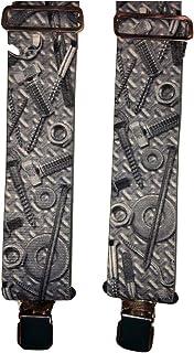 8ddf276b86937 Biker Design Braces Brimarc - Bretelles - Homme Gris gris Taille unique
