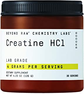 Beyond Raw Chemistry Labs HCl, 30 Servings