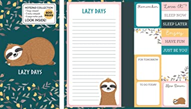 Book of Sticky Notes: Notepad Collection (Sloth Lazy Days) PDF