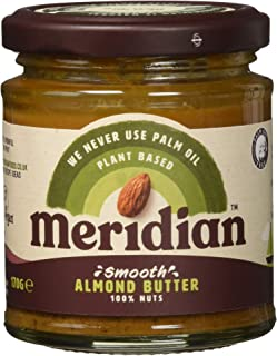 Meridian Natural Smooth Almond Butter, 170 g