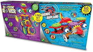 Learning Journey Bi Techno Gears Rocking Rover and Bionic Biplane Set (6+ Years)