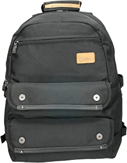 National Geographic N11706.06 Sport & Outdoor Backpack for Men - Canvas, Black