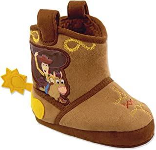 Toy Story Woody Boys Toddler Costume Cowboy Boot Slippers