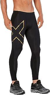 2XU Men's All Sports Compression Tights - Black/Gold Size - ST