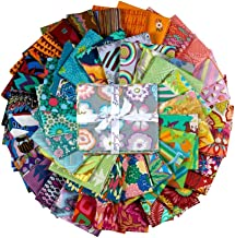 FreeSpirit Fabrics 50 Piece Designer Fat Quarter Fabric, Multicolor