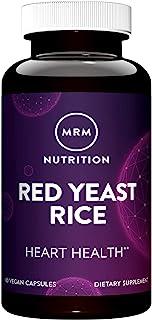 MRM - Red Yeast Rice | Supports Cardiovascular Health* | Monocolin K & Citrinin Free | Vegan, Gluten Free, Non-GMO Project...
