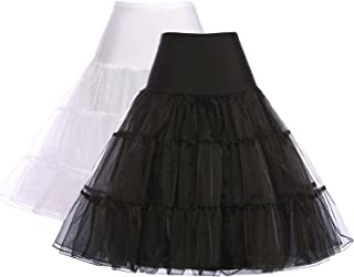 Women 50s Petticoat Skirts Tutu Crinoline Underskirt CL8922