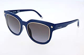 7a74c7e9d7 Calvin Klein 205W39nyc Cat Eye Gafas de sol, Bluee, 52 para Mujer