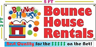 Bounce House Rentals 2x5 Banner Sign