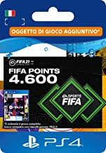 FIFA 21 Ultimate Team 4600 FIFA Points | Codice download per PS4 (incl. upgrade gratuito a PS5) - Account italiano