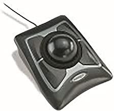 Kensington 64325 - Trackball Expert Mouse, ScrollRing, Black/Silver