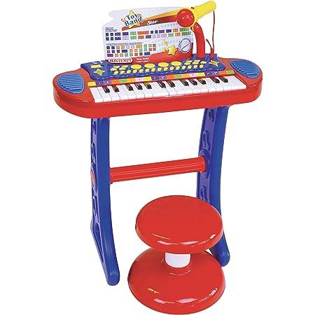 HOMCOM Piano Infantil 37 Teclas Teclado Electrónico Juego de ...