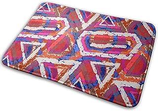 BIRSY Welcome Doormat - Non-Slip Entrance Floor Rug Indoor Outdoor Front Door Mat - Machine Washable Carpet Doormats with ...