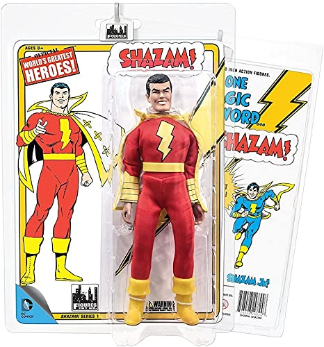 Shazam Retro 20cm Action Figures Series 1  Shazam