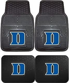 Duke University Blue Devils NCAA 4pc Floor Mat Sets (Front and Rear) - Heavy Duty-Cars, Trucks, SUVs