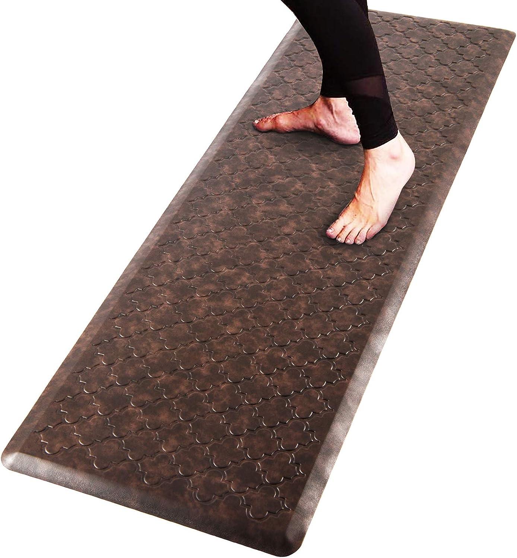 Pauwer Oversized Anti Fatigue Comfort Mat Kitchen Floor Standing ...